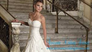 cheap beach wedding dresses youtube