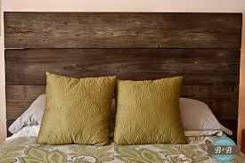 Reclaimed Wood Headboard Bedroom Stunning Cavalier Girl Diy Ana White Reclaimed Wood