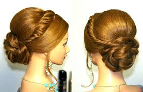 hairstyles to do on manikin wedding prom updo hairstyle for long hair tutorial youtube