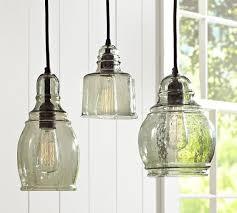 Glass Light Pendant Paxton Glass Single Pendants Pottery Barn