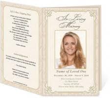 Memorial Program Template Angel Printable Funeral Program Template Wisteria Press