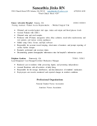 New Grad Resume Sample by New Grad Resume Current Nursing Resume