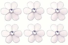 Flowers For Crafts - buy flower decor 2 white mini x small flowers daisy daisies 6pc