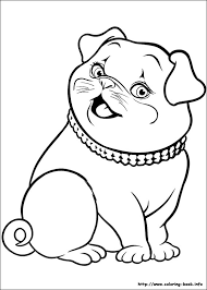 thumbelina coloring picture