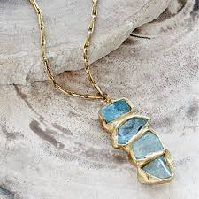 natural gemstone necklace images Natural gemstone jewelry handmade crystal stones uncommongoods jpg
