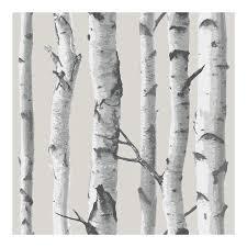 birch tree peel and stick wallpaper walmart com