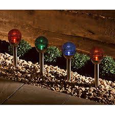 solar powered meerkat globe colour changing led light outdoor