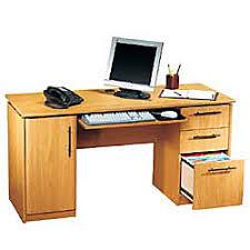 realspace dawson 60 computer desk rs to go dawson 60 computer desk 30 h x 60 w x 24 d sky alder by