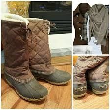 ll bean s boots size 12 62 l l bean boots ll bean boots quilted from
