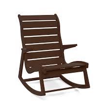 Outdoor Rockers Furniture Modern Wooden Outdoor Rockers For Interesting Front