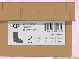 ugg australia s jaspan boots how to spot ugg boots 9 steps with pictures wikihow