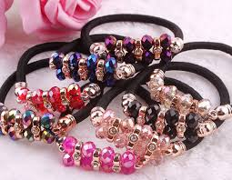 hair rubber bands fashion design elastic with hair rubber band buy