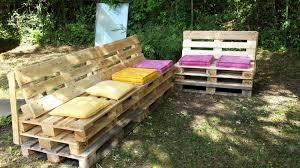 canapé exterieur palette plan salon de jardin en palette gracieux plan pour fabriquer un banc