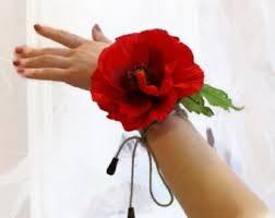 Corsage Flowers Flower Wrist Corsage Etsy