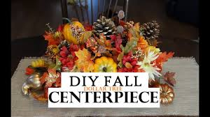 how to make a fall centerpiece dollar tree decor