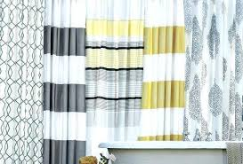 Yellow Stripe Curtains Yellow And White Striped Curtains Yellow Stripe Curtains Large