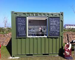 pop up cafe container conversions lion container fabrications
