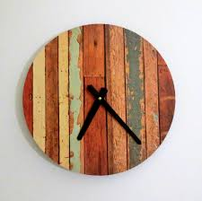 unique wooden wall clocks home