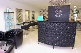 Hairdressing Reception Desk Spa Cabinets Style Shabby Chic Salon