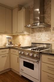 backsplash for cream cabinets cream cabinets contemporary kitchen heather garrett design
