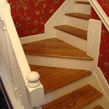 refinishing hardwood stairs after carpet removed