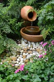 Water Feature Ideas For Small Backyards by 146 Best Diy Water Fountains Images On Pinterest Garden Ideas
