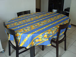 coated tablecloths from provence