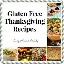 gluten free thanksgiving recipes including the shopping list and