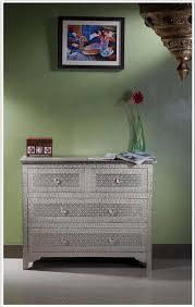 Metal Dressers Bedroom Furniture 27 Best White Metal Furniture Images On Pinterest Metal