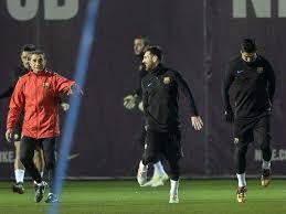 Lionel Messi Leg Copa Lionel Messi Spectacular Says Barcelona Coach