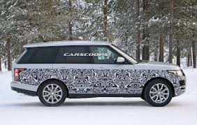 range rover 2017 2017 range rover spied getting ready for its first facelift
