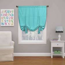 Turquoise Curtain Rod Turquoise Curtains U0026 Drapes Window Treatments The Home Depot