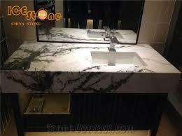 chinese aurora green marble bathroom countertops natural stone
