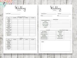 Best Wedding Planner Organizer Wedding Planner Organizer Wedding Book Letter Von Paperscribblesco