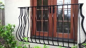 decorative partial window bars false balcony salvage material