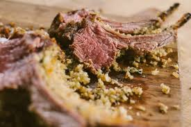 parmesan crusted rack of lamb the sauce by all things bbq