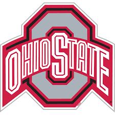 Ohios State Flag Ohio State Buckeyes Vinyl Magnet Set Of 2