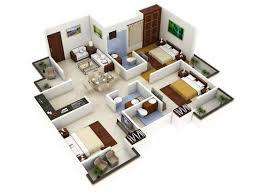 3 bedroom design best 25 apartment floor plans ideas on pinterest