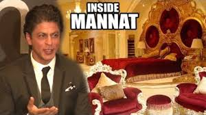 shahrukh khan home interior shahrukh khan on his house mannat inside interior dailymotion