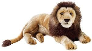 amazon com national geographic lion plush large size toys u0026 games