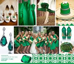 Color Green 2013 Pantone Color Of The Year Emerald Green Wedding Colors