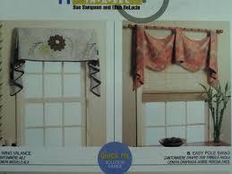 sewing patterns home decor valance pattern u2022 mccall u0027s 5872 u2022 window treatments u2022 wing valance