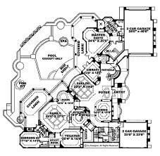 automotive floor plans mediterranean style house plan 5 beds 5 5 baths 8319 sq ft plan