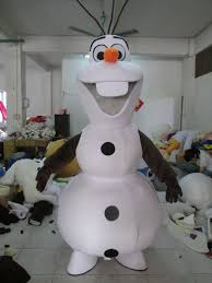 olaf costume hot sale frozen snowman olaf smiling frozen olaf mascot costume