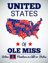 ole miss alumni sticker ole miss hotty toddy gosh a mighty ole miss