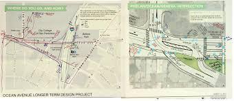 ocean avenue corridor design planning department