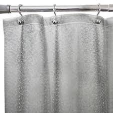 Bed Bath And Beyond Shower Curtain Liners Hookless Waffle Fabric Shower Curtain And Liner Set In Grey