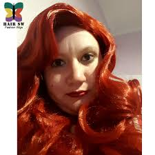 aliexpress com buy jessica rabbit cosplay wig copper red hair