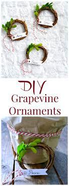 diy grapevine ornament wreath my uncommon slice of suburbia