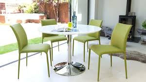 Gloss White Dining Table And Chairs White Dining Room Table And Chairs 4 White Gloss Dining Table